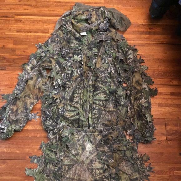4822cbdfda09b Mossy Oak Shirts | Mossy Oak Camo Leaf Suit | Poshmark